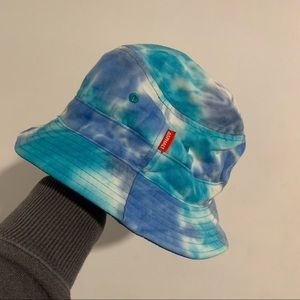 ASPHALT NEW YORK tie dye bucket hat reversible